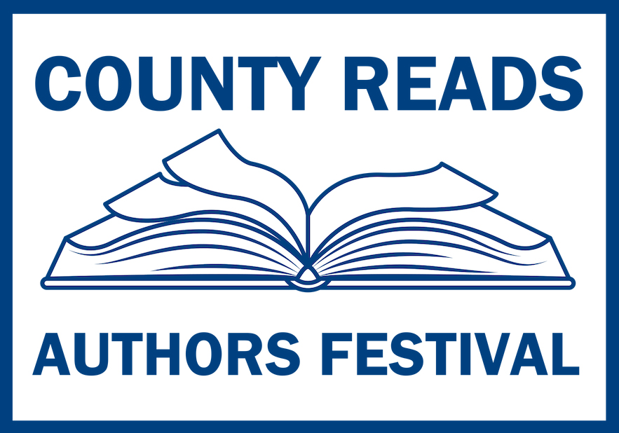 County Reads Authors Festival 2019 Logo