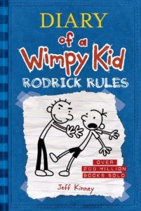 Rodrick Rules book cover